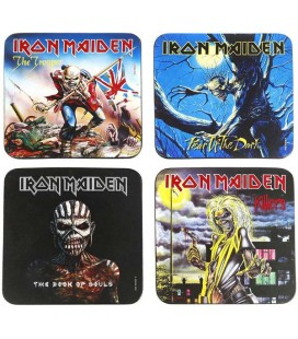 Iron Maiden Coaster Pack4 Sottobicchieri Iron Maiden