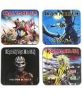 Iron Maiden Coaster Pack4 Sottobicchieri Iron Maiden