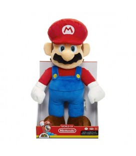 World of Nintendo - Jumbo Plush Figure Super Mario - 50 cm- Peluche Super Mario