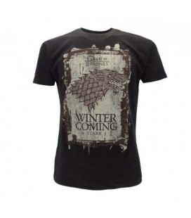 Cid - Game of Thrones - Maglia T-Shirt Winter is Coming - XXS
