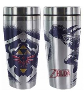 "THE LEGEND OF ZELDA - TRAVEL MUG /TAZZA DA VIAGGIO 450 ML ""LINK"""