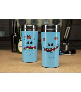 "RICK AND MORTY - TRAVEL MUG / TAZZA DA VIAGGIO 450 ML ""MR MEESEEKS""RICK AND MORTY - TRAVEL MUG / TAZZA DA VIAGGIO 450 ML ""MR ME"