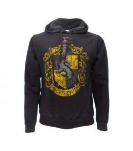 Warner Bros - Felpa Harry Potter Hufflepuff con cappuccio - Taglia XL
