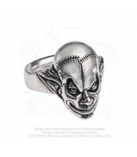 Alchemy England- Anello R213T Evil Clown Ring - Clown diabolico
