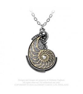 Alchemy England- Collana P799 Fibonacci's Golden Spiral