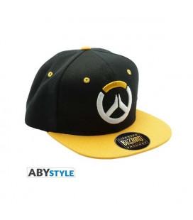 OVERWATCH - Snapback Cap - Nero e Giallo - Logo - Taglia Unica