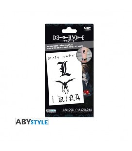 Aby Style - Death Note - Tattoos