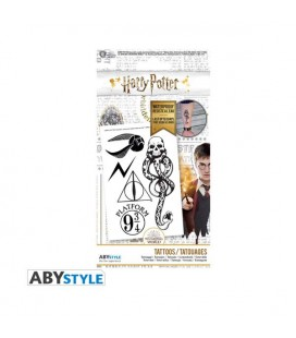 AbyStyle - Harry Potter - Tattoos - Set di tatuaggi