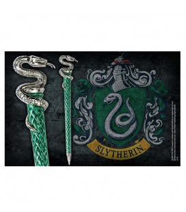 Noble Collection - Harry Potter - Slytherin Pen - Penna Slytherin Serpeverde