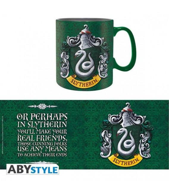 Harry Potter - Tazza Mug - 460 Ml - Slytherin - Serpeverde - Ceramica - Abystyle