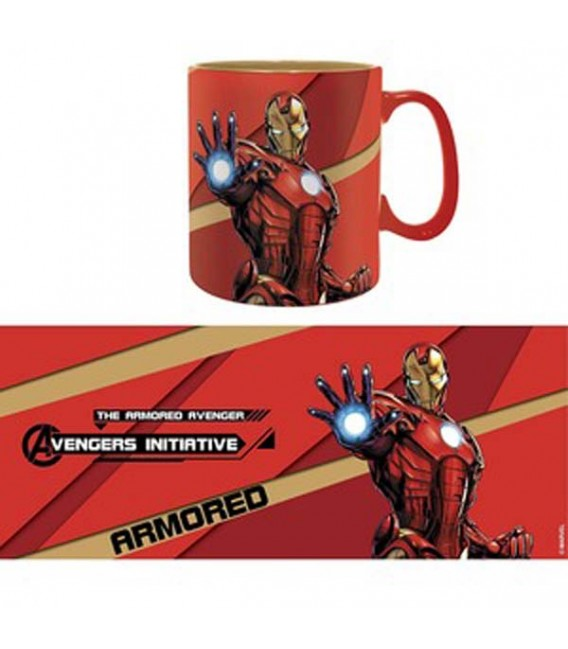 "MARVEL - MUG/TAZZA KING SIZE 460ML - ""IRON MAN"""