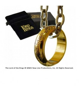 NOBLE COLLECTION - IL SIGNORE DEGLI ANELLI - LORD OF THE RINGS - ANELLO THE ONE RING