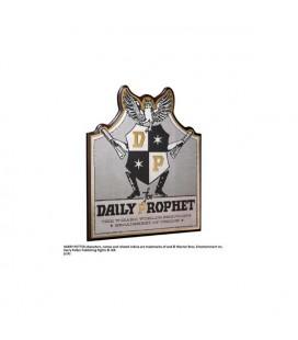 Noble Collection - Harry Potter - Daily Prophet Wall Plaque - Placca in legno della Gazzetta del Profeta