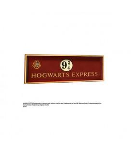 Noble Collection - Harry Potter - Hogwarts 9 3/4 sign - Targa in legno Hogwarts Express