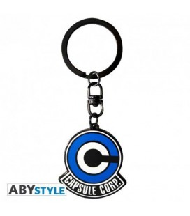 DRAGON BALL - PORTACHIAVI/KEYRING - CAPSULE CORPORATION