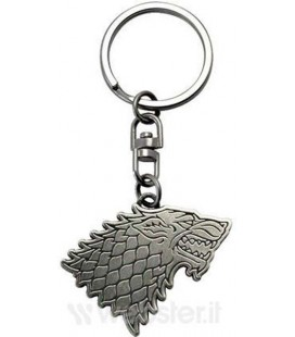GAME OF THRONES - PORTACHIAVI/KEYRING - STARK