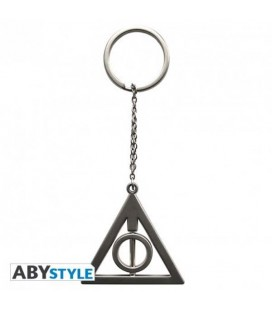HARRY POTTER - PORTACHIAVI/KEYRING - IDONI DELLA MORTE/DEATHLY HALLOWS