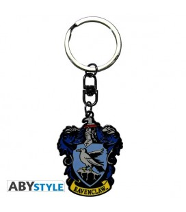 "HARRY POTTER PORTACHIAVI/KEYRING - STEMMA/BADGE ""CORVO NERO"""