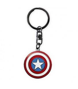 Portachiavi con scudo di Capitan America - Marvel heroes - 3,6 cm - Abystyle