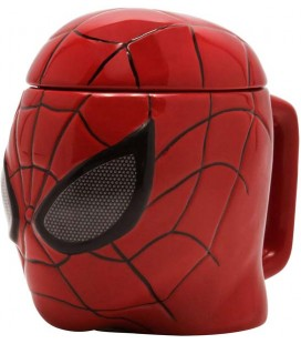 Spiderman - Marvel - Abystyle - 3D Shaped Mug - Tazza - 400 Ml - Ceramica