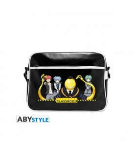 "AbyStyle - Assassination Classroom - Messenger Bag ""Group"" - Vinyle - Borsa Tracolla grande"