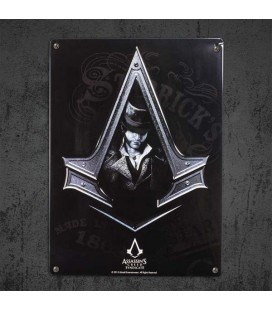 AbyStyle - Assassin's Creed Syndicate Targa in Metallo - Placca di Metallo (28cmx38cm)