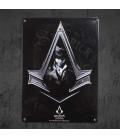 AbyStyle - Assassin's Creed Syndicate Targa in Metallo - Placca di Metallo (28cmx38cm)