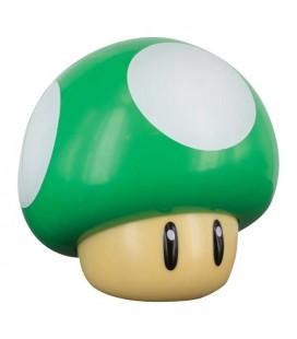 Lampada - Super Mario Bros - Paladone - 1 Up Mushroom Light - Lampada - 13 Cm - Usb or Battery
