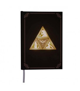 Zelda - Paladone - Quaderno Luminoso - Light Up Book - Triforce - 200 Pg - A5