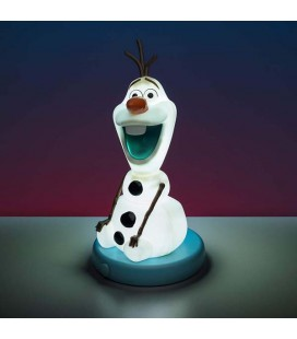 Frozen 2 - Paladone - Olaf - Lampada Touch In Pvc - 17 X 8 X 9 Cm
