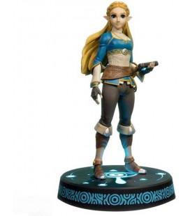 Collector's Edition - The Legend Of Zelda Breathe Of The Wild - First 4 Figures - Action Figure ZELDA - 25 Cm - PVC