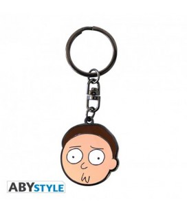 "RICK AND MORTY - KEYRING/PORTACHIAVI - ""MORTY"""