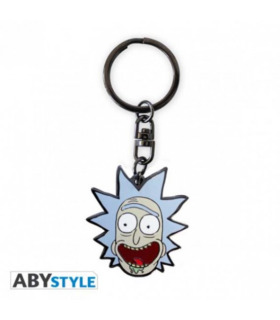 "RICK AND MORTY - KEYRING/PORTACHIAVI - ""RICK"""