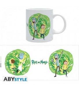 "RICK AND MORTY - MUG/TAZZA - ""IL PORTALE"""