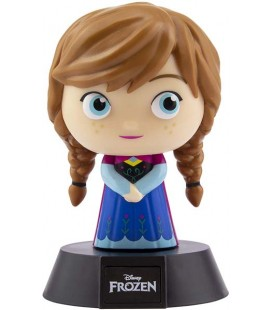 Frozen 2 - Paladone - Lampada Anna - Lamp - Light - Icona - Led - Usb - 11 Cm - Pvc