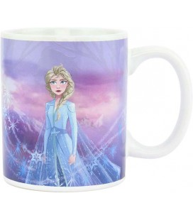 Frozen 2 - Paladone Products - Tazza Termica Cambia Colore - Heat Change Mug - 300 Ml - Ceramica