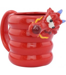 Mulan - Disney - Mushu Shaped Mug - 3D Tazza - Ceramica - 330 Ml - 11 x 16 x 10 cm