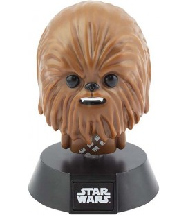 Star Wars - Disney - Chewbacca - Lampada - Lamp - Light - Icona - Led - Usb - Batterie - 11 Cm - Pvc