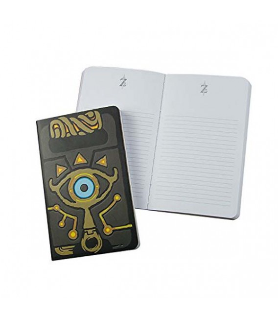 "XXXTHE LEGEND OF ZELDA - NOTEBOOK/QUADERNO ""SHEIKAH SLATE"""