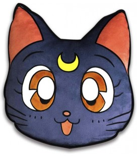 Sailor Moon - ABYstyle - - Cuscino - Luna (35x33 cm) - Pillow - Ufficiale - Manga - Nerd