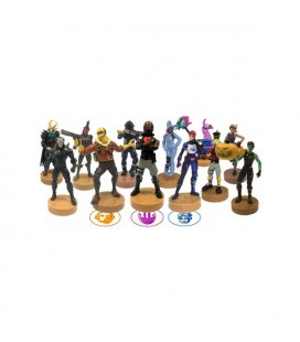 PMI - Fortnite - Timbri stampers collezionabili dei personaggi di Fortnite