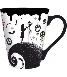 ABYstyle - Disney - Lo Strano Natale di Mr Jack - The Nightmare Before Christmas - Tazza - 250 ml - Jack Skellington
