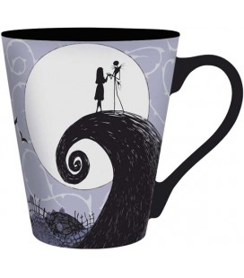 ABYstyle - Disney - Lo Strano Natale di Mr Jack - The Nightmare Before Christmas - Tazza - 250 ml - Jack Skellington e Sally