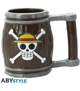 ABYstyle - One Piece -Barile - Barrel - 3D Shaped Mug - Tazza - 350 ml - Ceramica