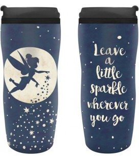 ABYstyle - Disney - Peter Pan - Tazza da Viaggio - 350 Ml - Trilli - Trilly - Tinker Bell - Travel Mug
