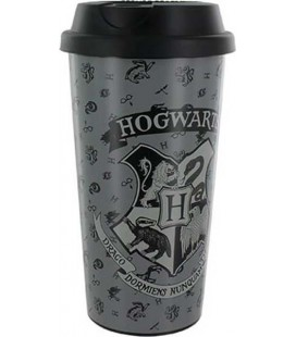 "HARRY POTTER -TRAVEL MUG /TAZZA DA VIAGGIO 400 ML ""HOGWARTS"""