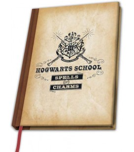 Harry Potter - ABYstyle - taccuino - A5 - Quaderno Scuola di Hogwarts - 180 Pg