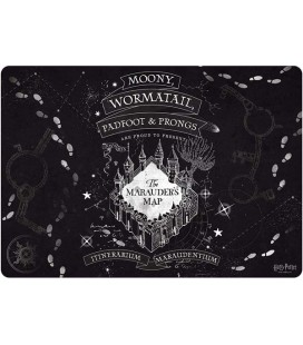 Harry Potter - Abystyle - Mousepad - Tappetino per Mouse - Mappa del Malandrino - Marauder's Map -35x25 Cm - Gaming