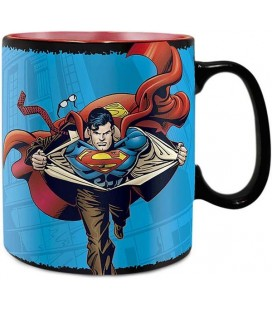 Super Man - ABYstyle - DC Comics - Tazza Cambia Colore con Calore - 460 ml - Superman - Heat Change Mug