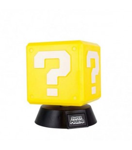 Super Mario - Mini Lamp/Lampada 10 Cm Question Block
